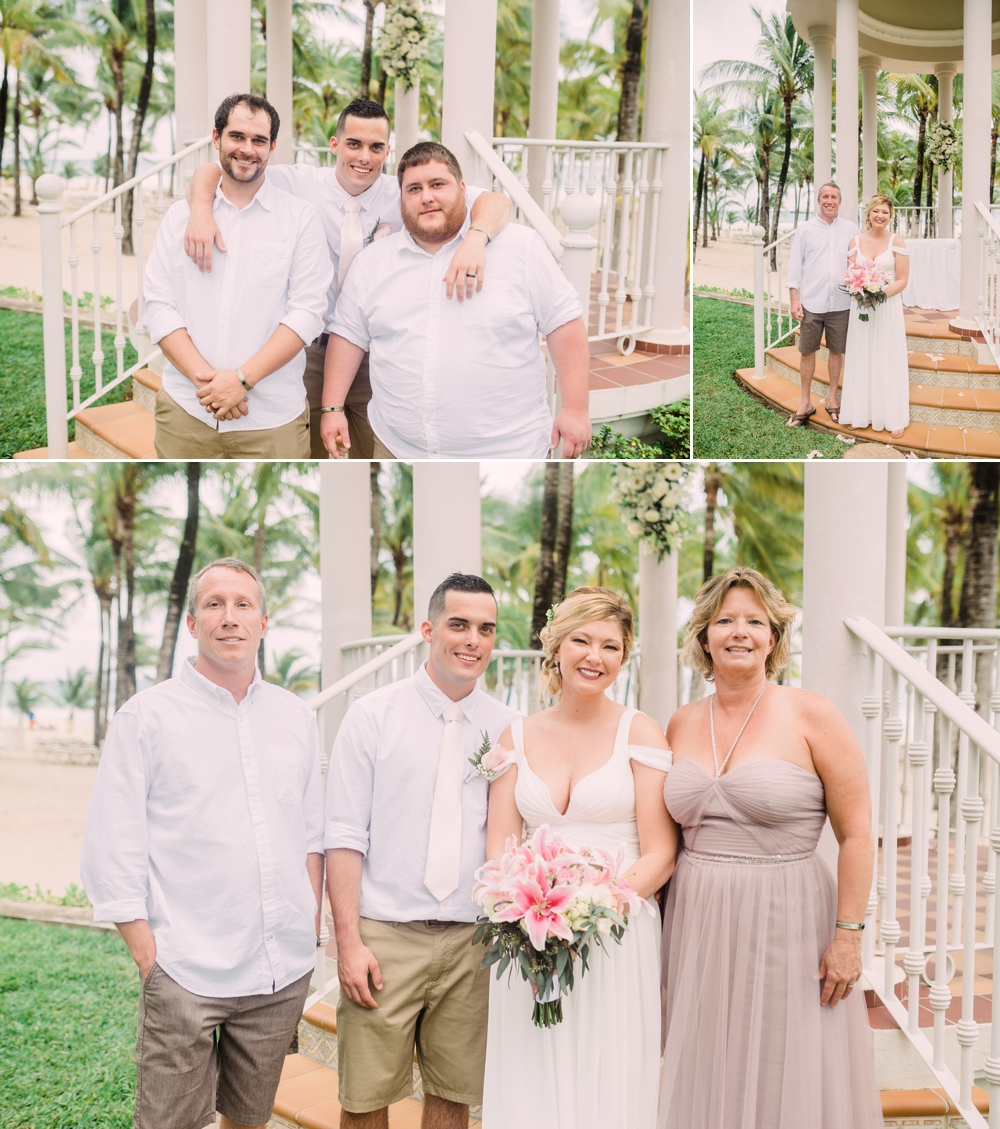 Destination Wedding Photography_Riu Palace Riviera Maya_Playa Del Carmen_Mexico_family portraits in front of gazebo_brothers_Destination Wedding Photographer.jpg