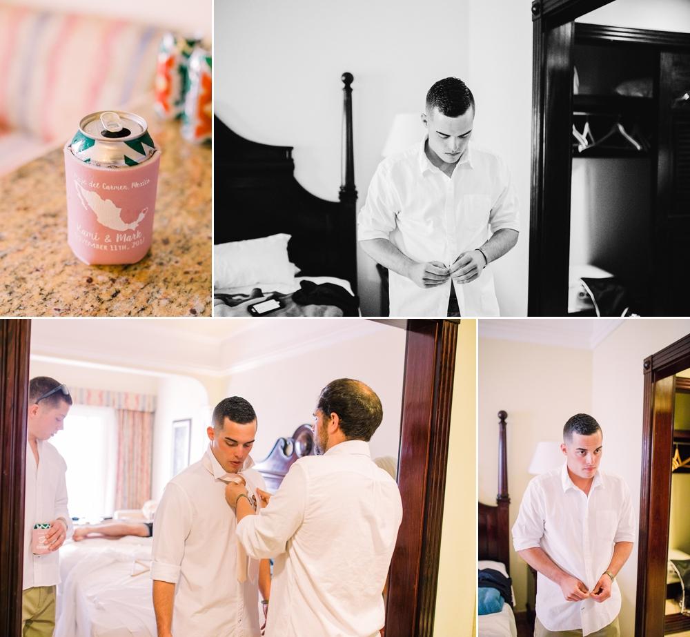 Destination Wedding Photography_Riu Palace Riviera Maya_Playa Del Carmen_Mexico_Groom getting ready with guys_Destination Wedding Photographer.jpg