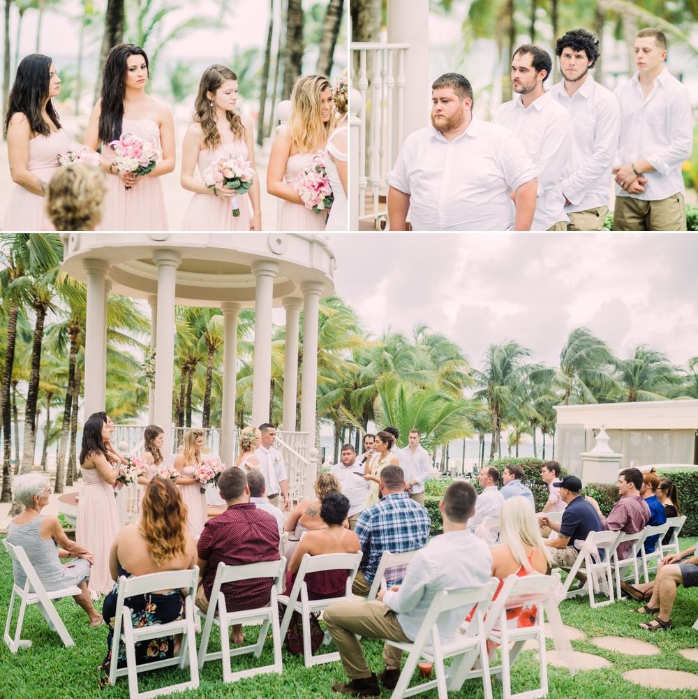Destination Wedding Photography_Riu Palace Riviera Maya_Playa Del Carmen_Mexico_guests and wedding party during ceremony_Destination Wedding Photographer.jpg