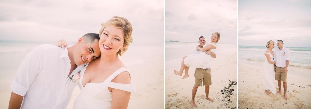 Destination Wedding Photography_Riu Palace Riviera Maya_Playa Del Carmen_Mexico_snset portraits on beach_Destination Wedding Photographer.jpg
