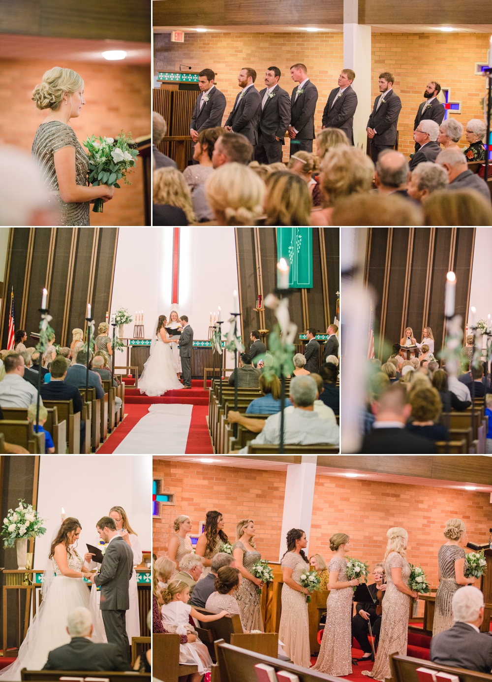 Wedding Photography_Our Saviors Lutheran Church_Humboldt Iowa_ceremony candids_Iowa Wedding Photographer.jpg