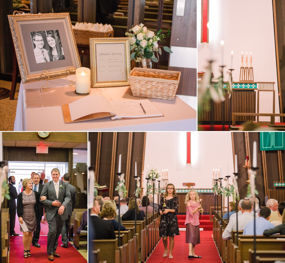 Wedding Photography_Our Saviors Lutheran Church_Humboldt Iowa_ceremony details_Iowa Wedding Photographer.jpg