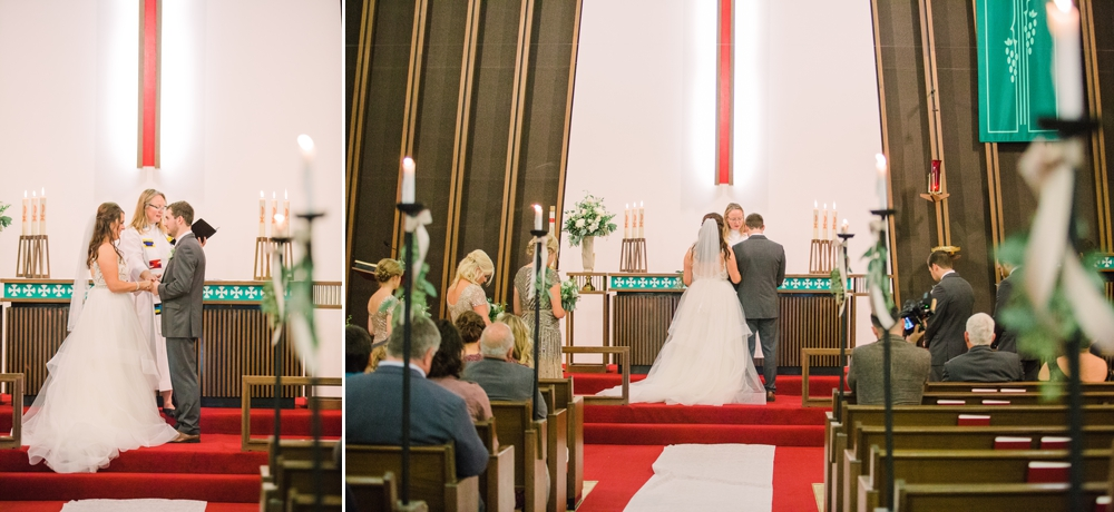 Wedding Photography_Our Saviors Lutheran Church_Humboldt Iowa_ceremony vows_Iowa Wedding Photographer.jpg