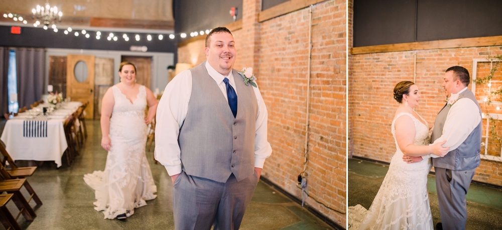 Wedding Photography-Gatherings by Farmhouse Catering-Nevada-Iowa-first look with bride and groom-Iowa Wedding Photographer.jpg