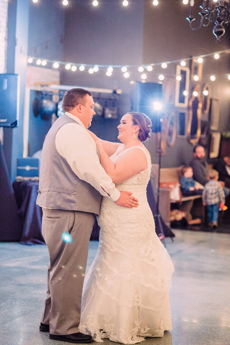 Wedding-Photography_Gatherings-by-Farmhouse-Catering_Nevada-Iowa_bride+and+groom+first+dance-iowa+wedding+photographer.jpg