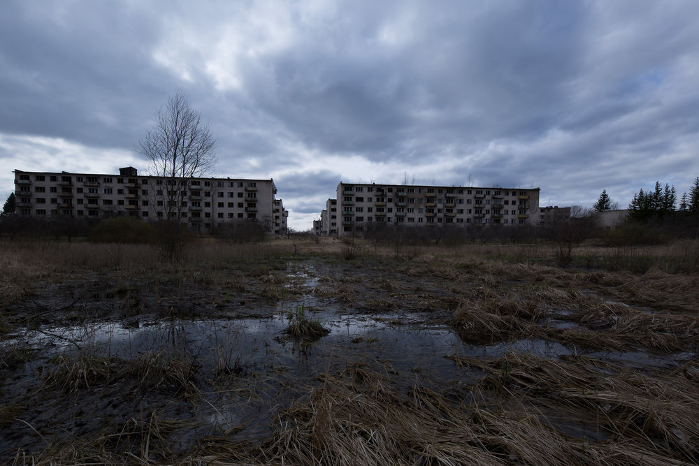 Listening for Missiles - Soviet Military City Deserted
