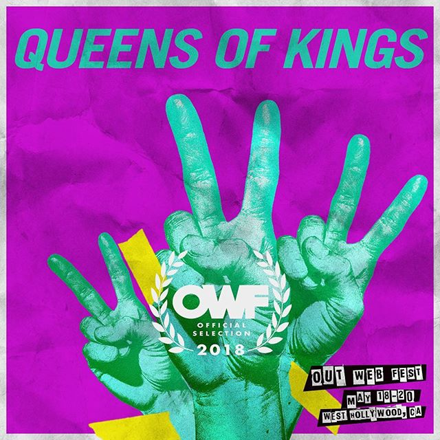 LA fans, need to unwind after this weekends @rupaulsdragcon be sure to attend @outwebfest next weekend May 18 - 20. rumor has it at the May 19th screening at the @thelondonweho you'll be able to catch a first look at @queensofkingsnyc season 3 when we offer a sneak peak at the @ageofaquaria episode. #queensofkings #outwebfest #revry #aquaria #qok #brooklyndrag