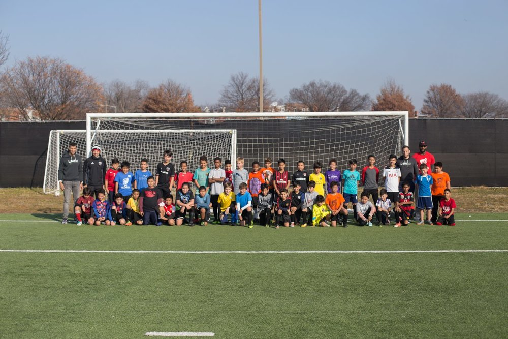 as part of our mission to connect talented young players from low-income families in dc with high-level developmental soccer experiences, we're consistently searching for new opportunities and unique partnerships to allow our players to grow with the game and make the most of their potential on the pitch. in December, we hosted our first ever free DC United Academy tryout for Open Goal Project players. nearly 200 youth players from more than 50 local schools attended, and a total of 11 players were invited back for extended trial runs with United Academy teams. teaming up with United and DC SCORES, we empowered nearly 200 players from DC Public Schools to be evaluated by DCU Academy coaches and trainers at United's training complex. we hosted three sessions, giving players from 4th grade to 12th grade the chance to play in front of and potentially be identified by coaches for Academy selection. this tryout and unique partnership was an important step for our mission as we continue to look for ways to even the playing field for players all over our city who have never had opportunities, like this one, to realize their full potential as players on the field and young people off the field. for the 11 players who were invited back for extended tryouts with the club, Open Goal Project has been working with those players and their parents to provide them with logistical coordination, assistance with transportation and translation services to make sure they can make the most of this unique opportunity and hopefully be selected to join DC United's youth program. the players who have been invited back by DCU coaches were not playing any formal soccer outside of DC SCORES or DC Public School teams, a stunning confirmation of our belief that if we give our players an opportunity to shine and a platform to be seen, the sky is the limit.