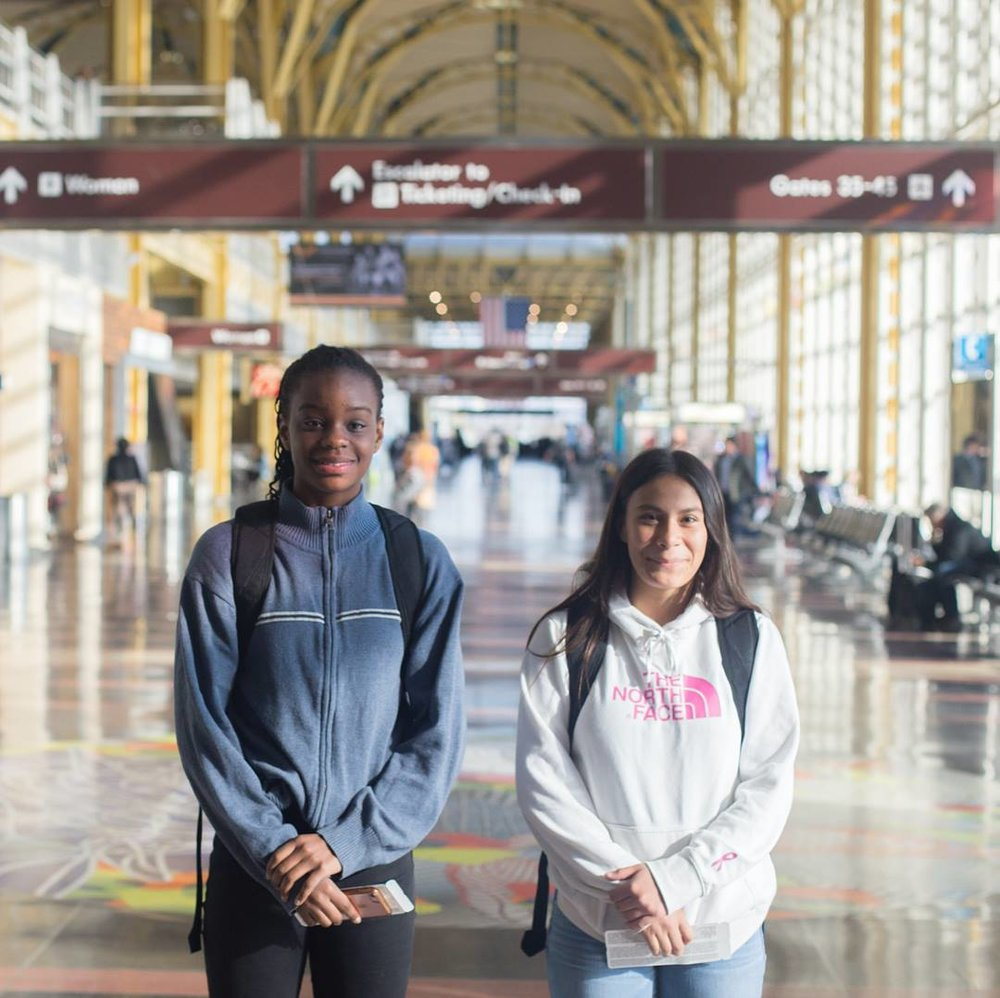 Ariana and Precious just returned from a five-day trip to Phoenix for a national showcase tournament with their McLean ECNL team.the girls continue to make large strides and are excelling. in Phoenix, they went 3-0, playing against some of the best teams in the country and in front of coaches from dozens of colleges nationwide on hand to watch for potential recruitment. their team now leads the Mid-Atlantic Conference of ECNL, ahead of teams from up and down the coast with a national tournament bid on the way.  the exposure that comes from Precious and Ariana competing in this tournament in Phoenix cannot be overstated. and yet, the pricetag is great.  between their flights, hotels, and food for the weekend, the girls' trip to Phoenix cost more than $2,000. the fact is that without your support, this incredibly valuable experience and exposure simply wouldn't be possible for Precious and Ariana. with your help, we're making these experiences happen.   we know that empowering our players to overcome off-field obstacles is imperative to them having the opportunity to make the most of their natural abilities on the field. we remain firm in our belief that there is no better place to invest our time and our resources than in our players like Precious and Ariana, giving them the chance to leverage their talent for greater life experiences.  with your support we'll continue to do just that . ⚽️❤️⚽️