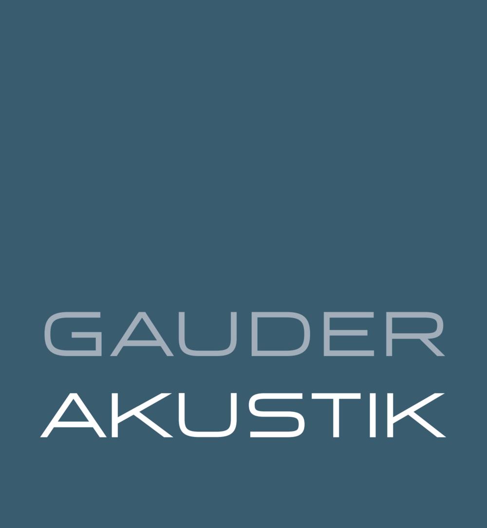 Gauder Akustik Logo