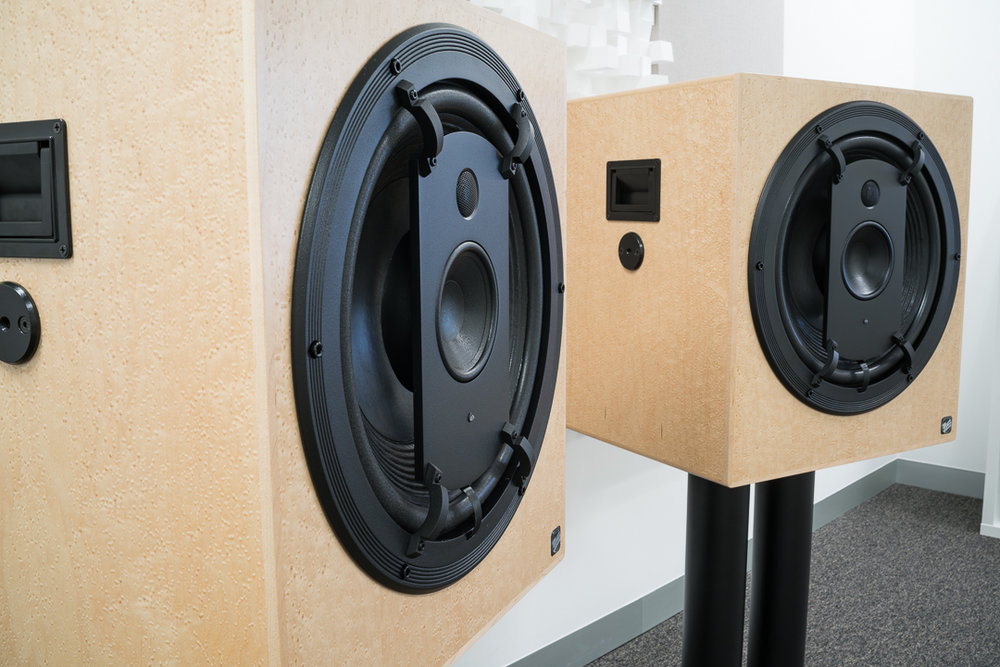 Picture of ME Geithain RL901K active studio monitors with cardioid bass response
