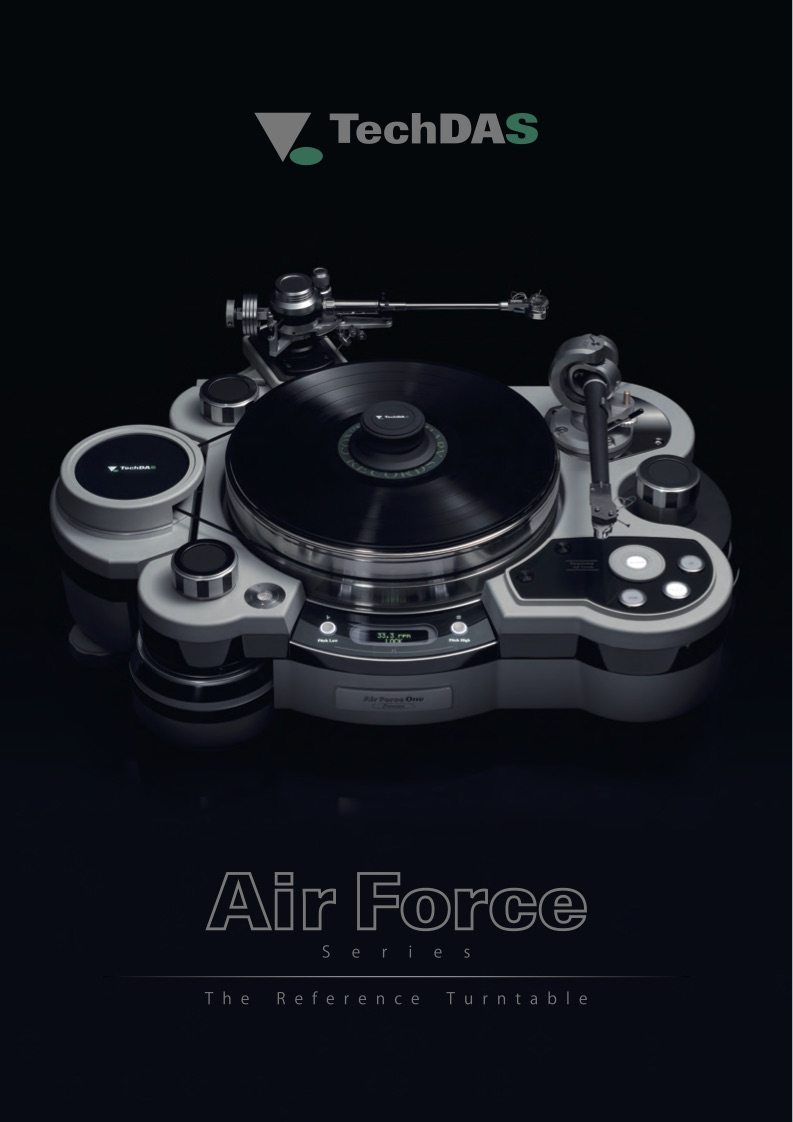 Air Force Turntable Brochure