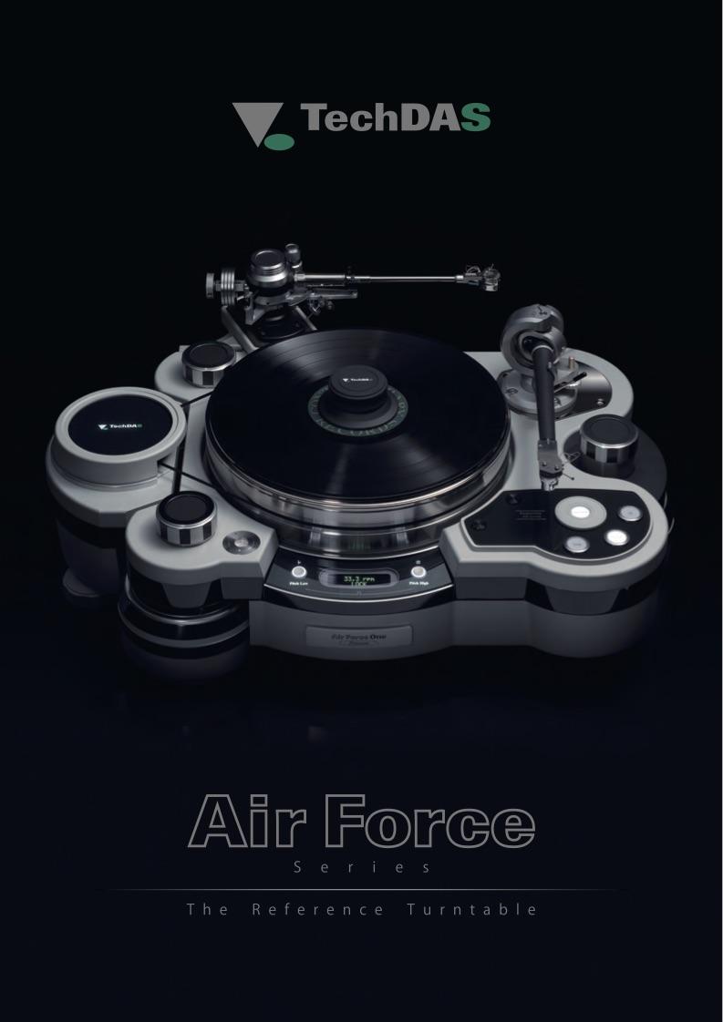 Air Force Turntable Brochure