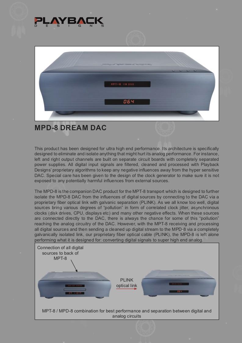Download MPD-8 Product Brochure