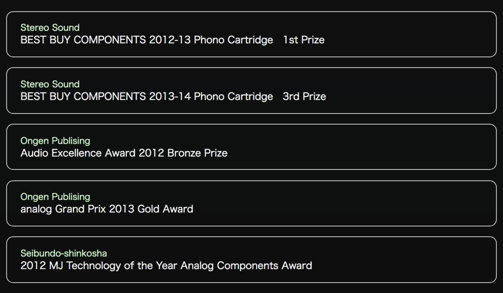 Phasemation PP-300 Awards
