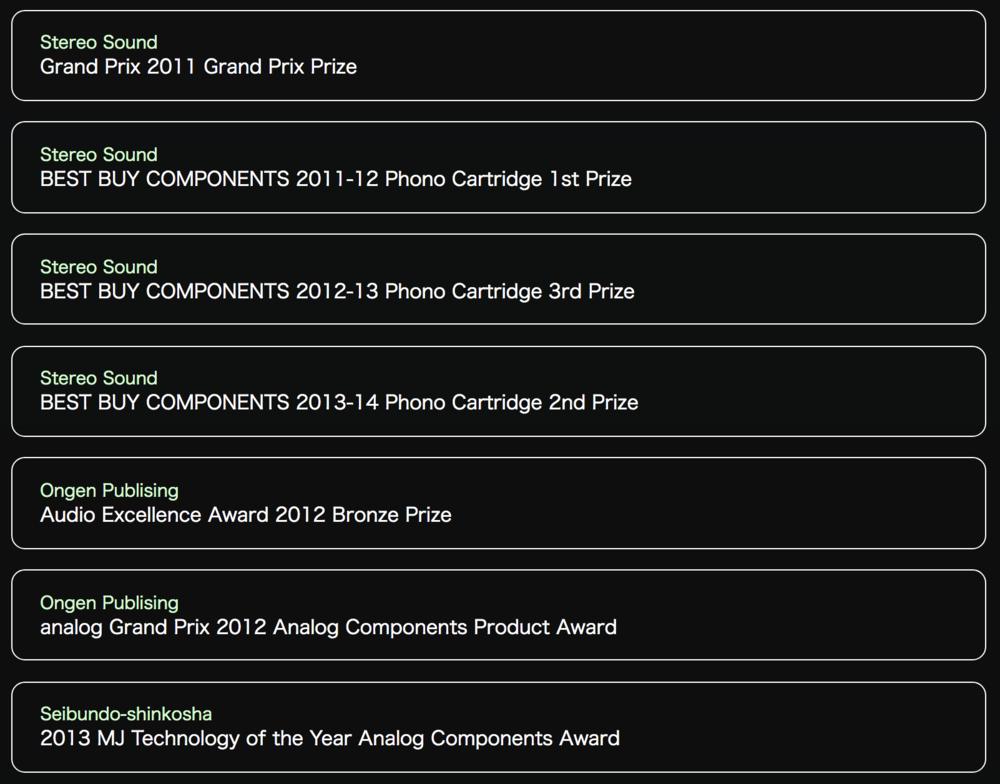 Phasemation PP-1000 Awards