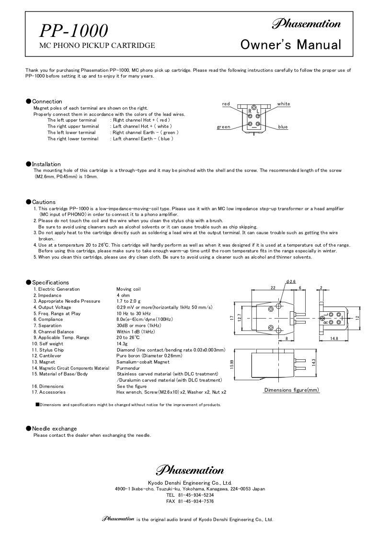Download PP-1000 User Manual