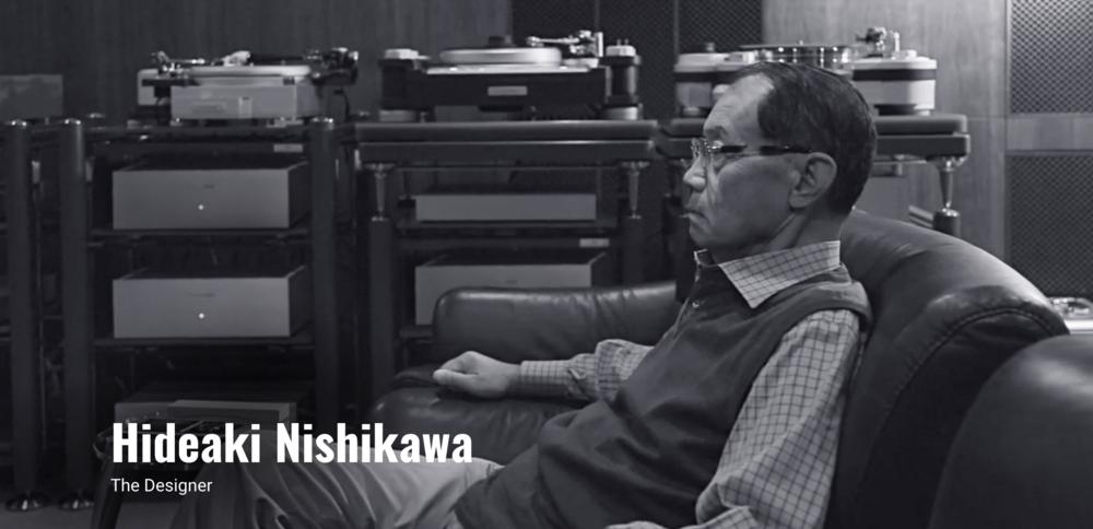 TechDAS and Micro Seiki Turntable Designer Hideaki Nishikawa