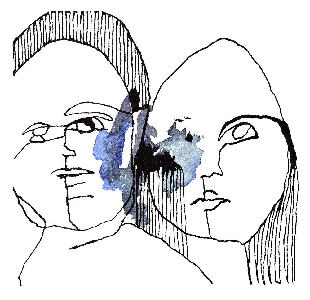 To sammen