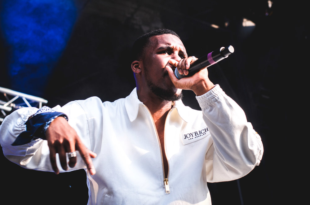 Novelist performing at Born N Bred Festival for Rinse FM 05/07/16