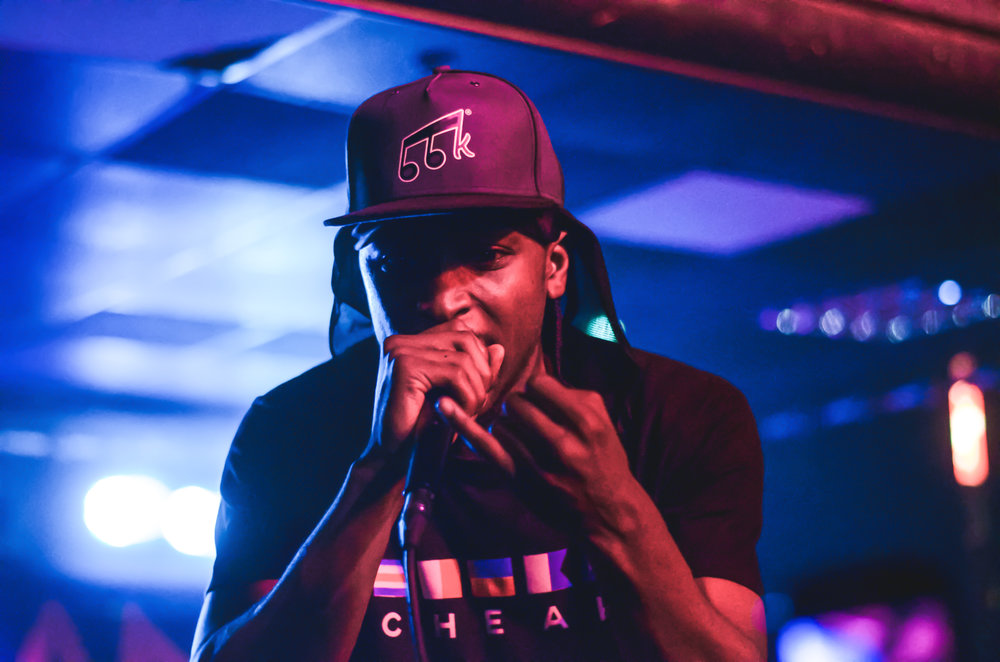 JME at New Slang 20/08/15. The lighting was so tricky at this event and this is the only decent shot I got of him!