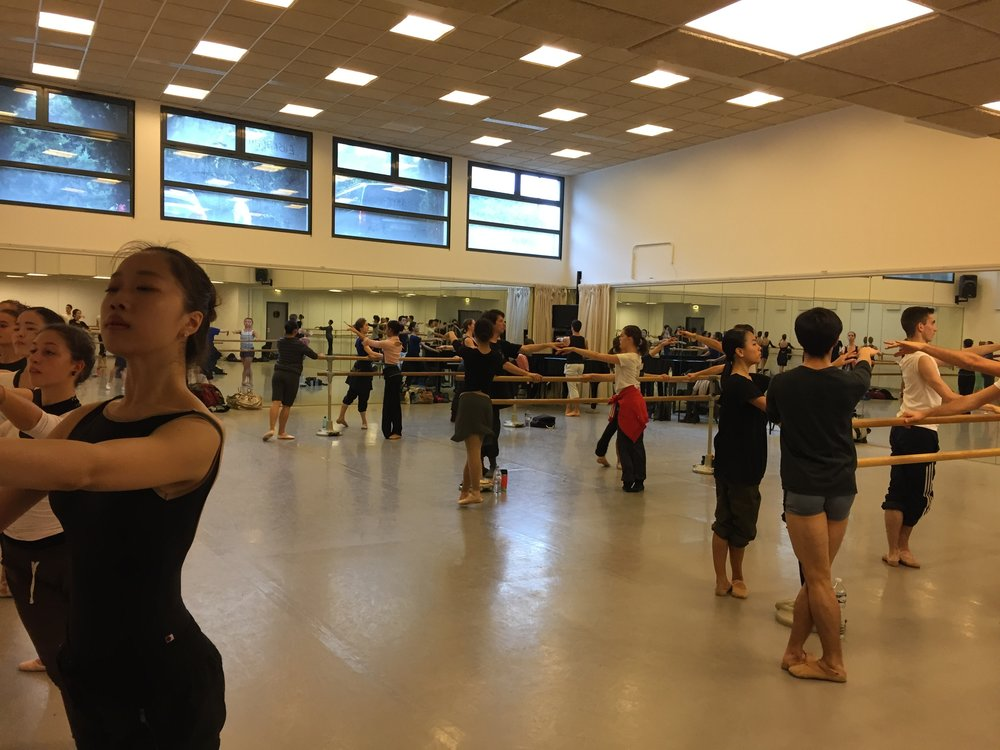 Classe au Conservatoire de Nice
