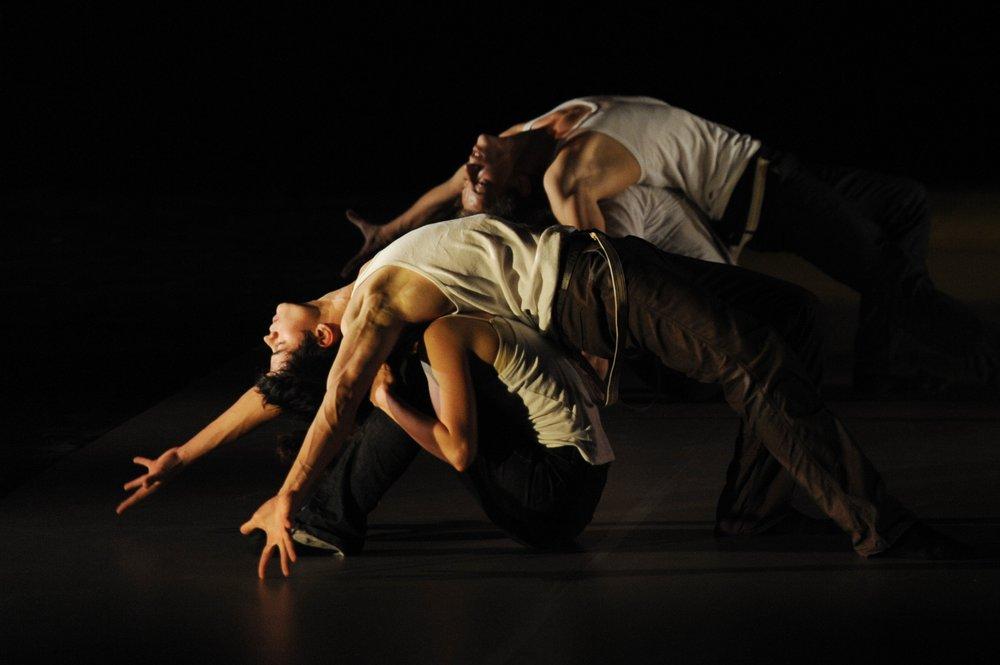 Photo extraite du Ballet Foudre, créé par Claude Brumachon et Benjamin Lamarche pour l'école en 2010 et repris au répertoire 2016/2017 Crédit photo : Nathalie Sternalski