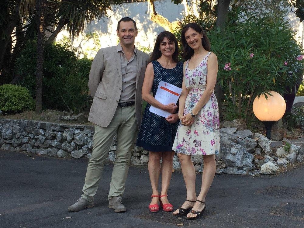 Pierre-Marie Quéré, Karine Bruscoli, Paola Cantalupo