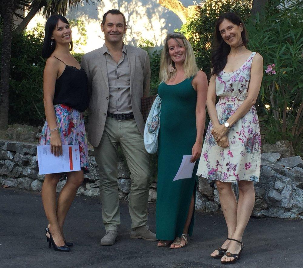 Emilie Tampigny, Pierre-Marie Quéré, Stéphanie Mangino et Paola Cantalupo