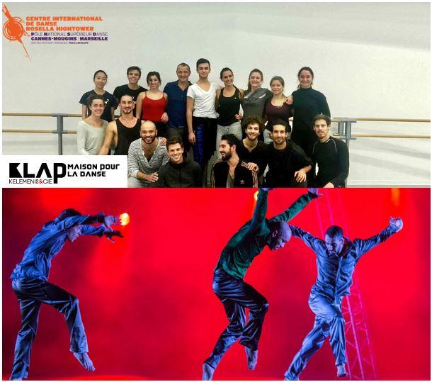 - L'ensemble des classes DNSP ont ensuite assistéau spectacle de la compagnie au théâtre Scène 55 de Mougins.