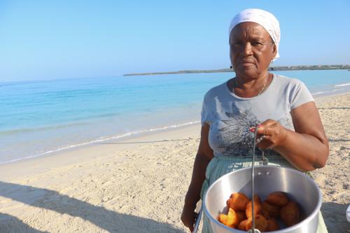 Decompressing in Playa Baru