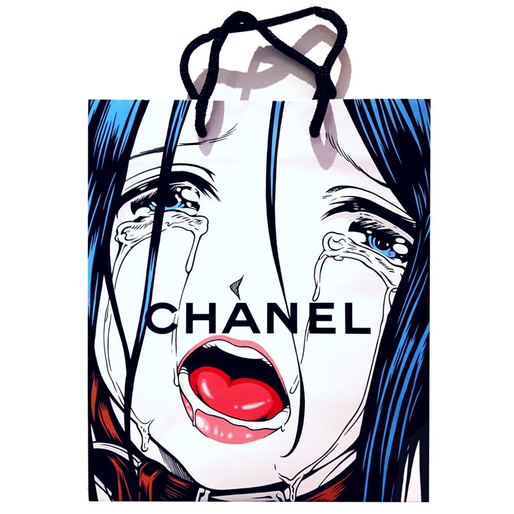 Sample Collection - Acrylic on Chanel bag. 2016