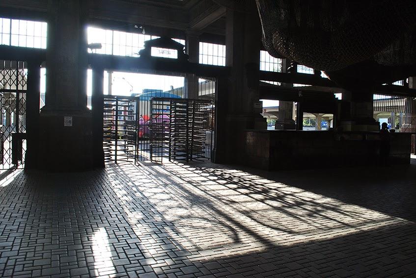 interior da estação leopoldina