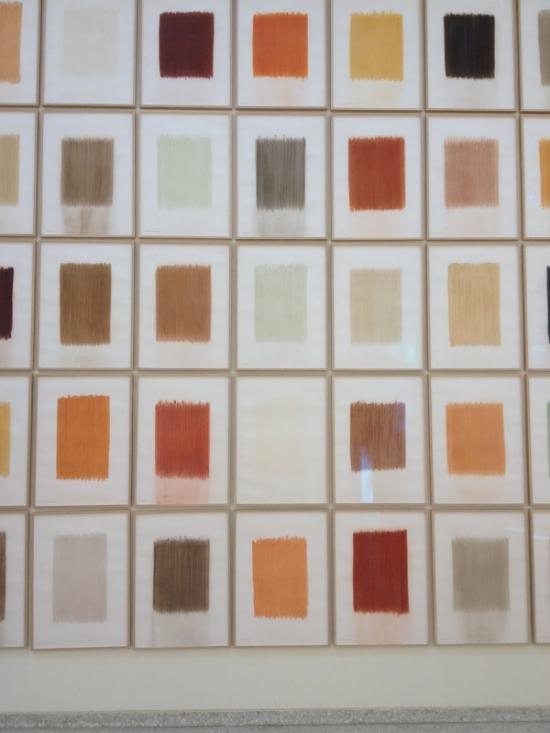 quadros com pigmentos de diferentes países