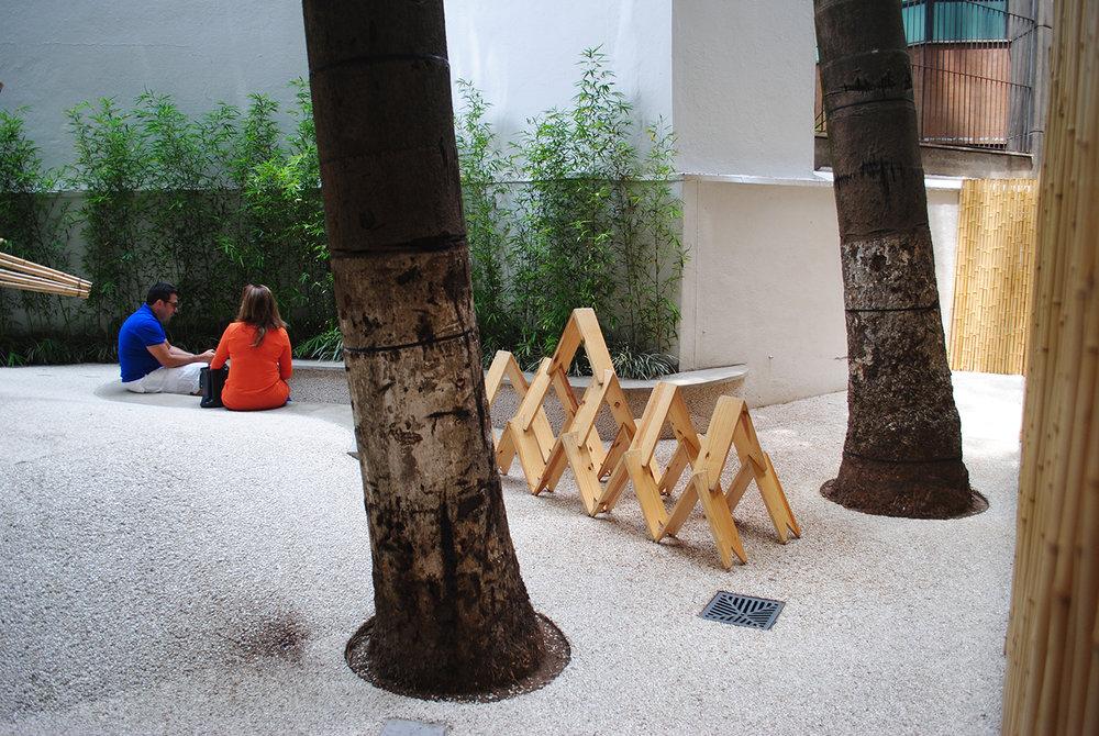 Mini-jardim interno