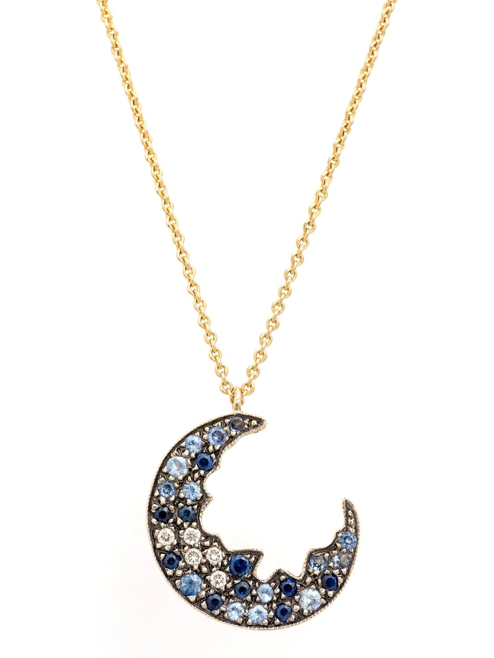 Broken Moon Necklace