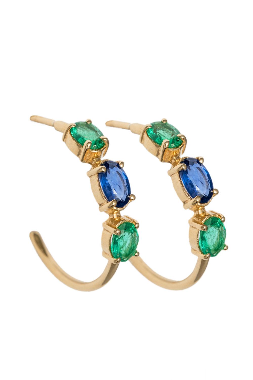 Carolina Hoop Earrings