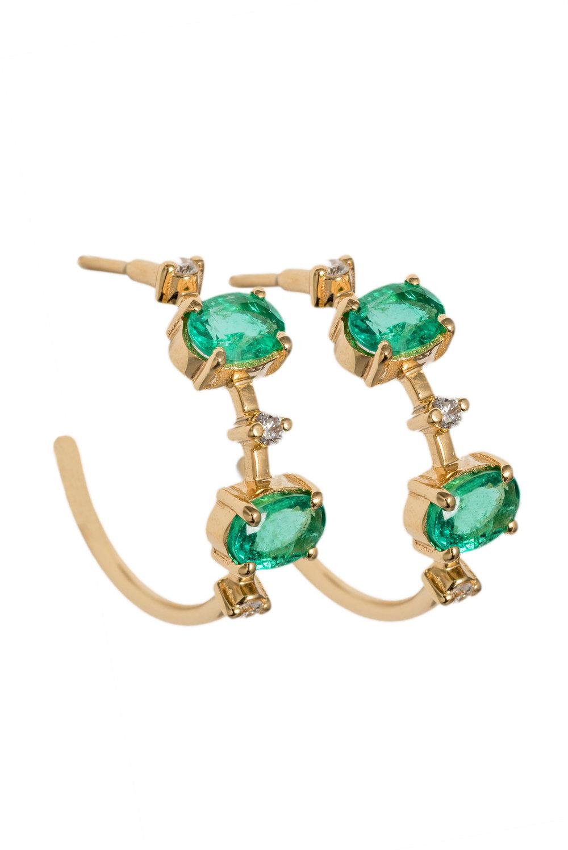 Clea Hoop Earrings