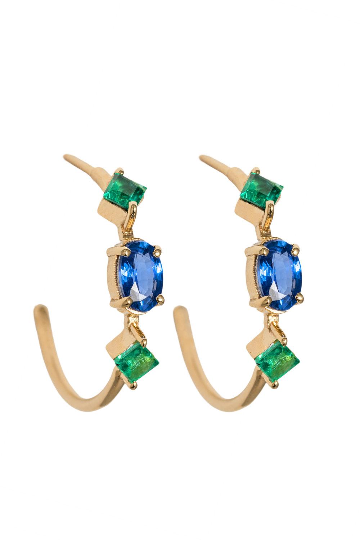 Clementine Hoop Earrings