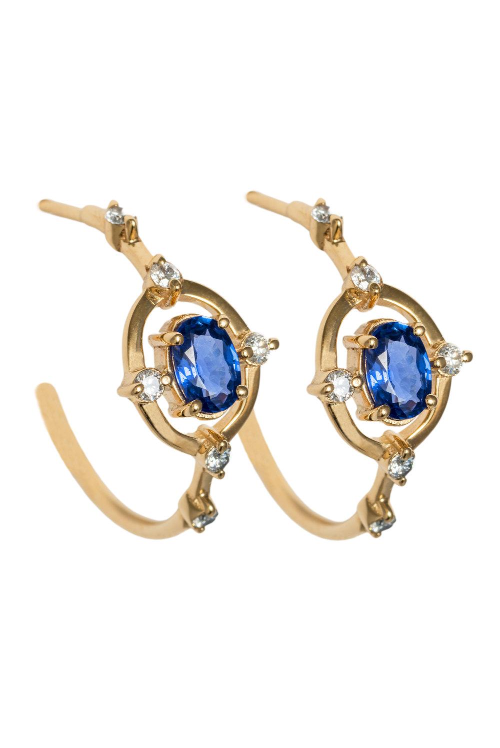 Cybele Regalis Hoop Earrings