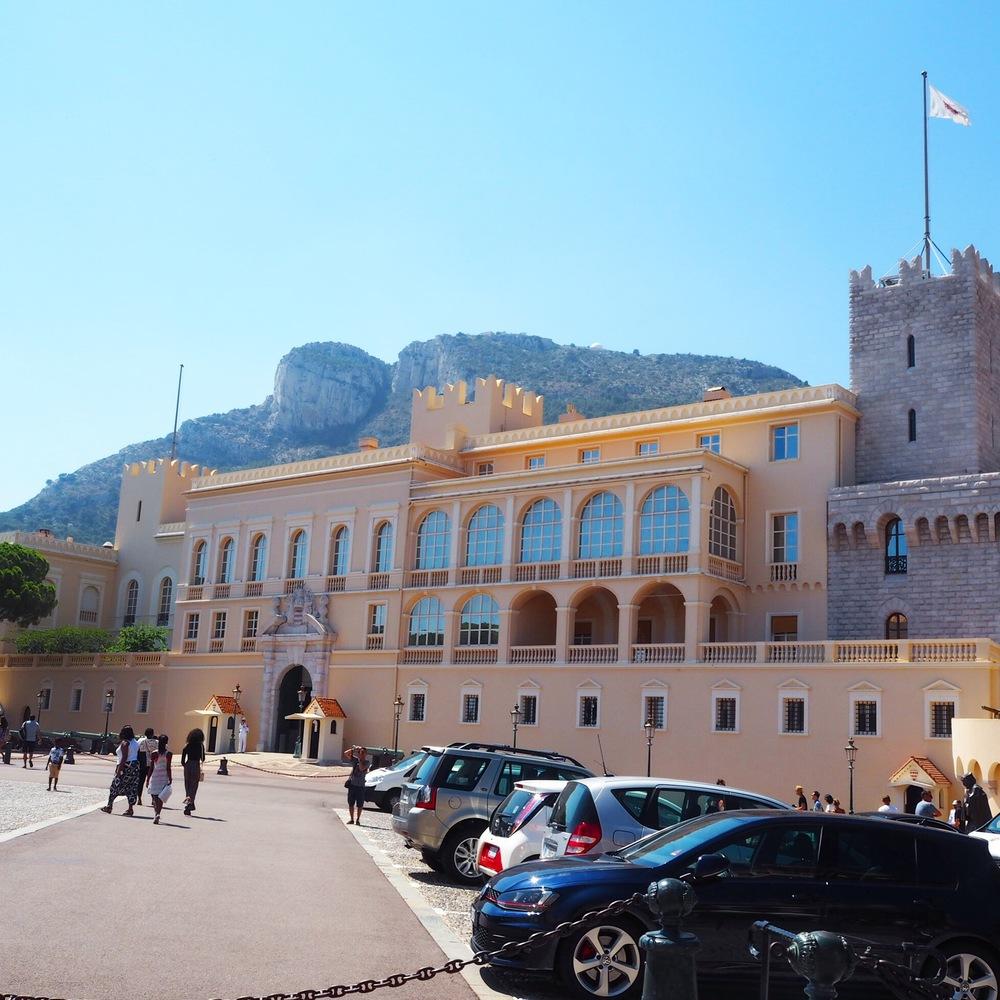 Knížecí palác v Monaku  Prince´s palace of Monaco