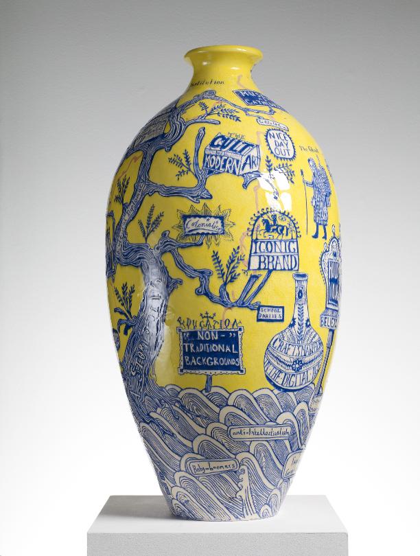 Grayson Perry, 'The Rosetta Vase' of 2011.