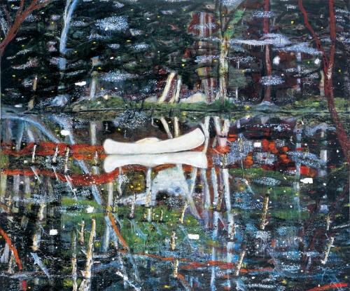 White Canoe, Doig, 1990-91