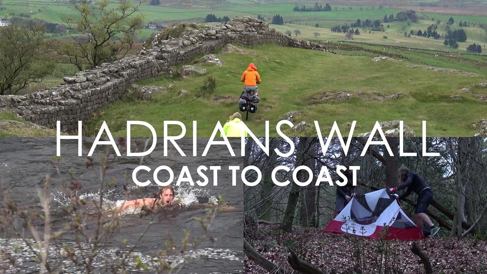176 Miles journey along Hadrian's Wall filmed in 4K