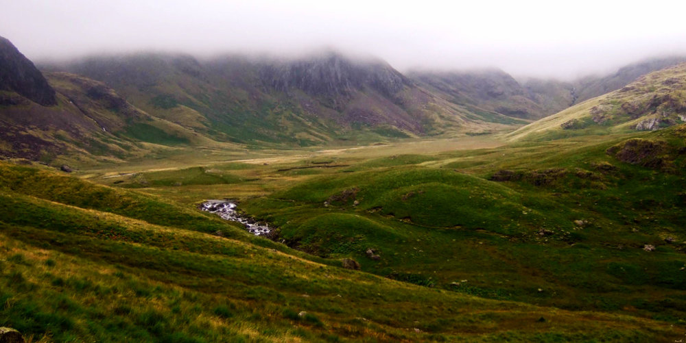 Upper Esk Valley, on the way to Scafell Pike.