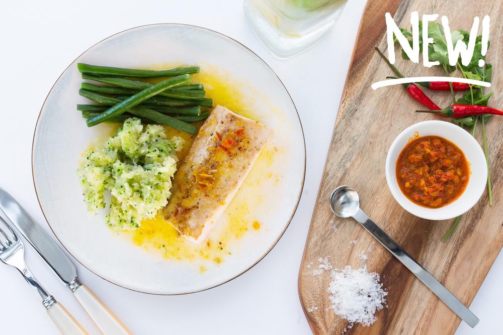 Broiled Mahi-mahi with Sauce 23