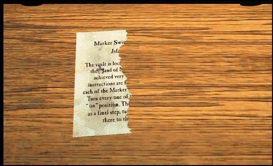 Page fragment, Myst