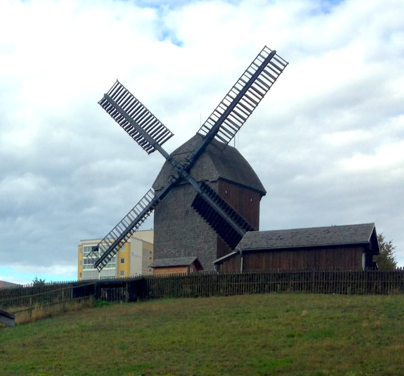The Windmühle in Alt-Marzahn.