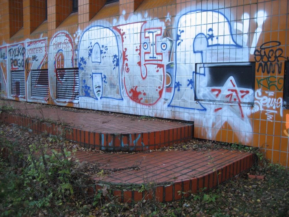 Northern wall, November 2014.