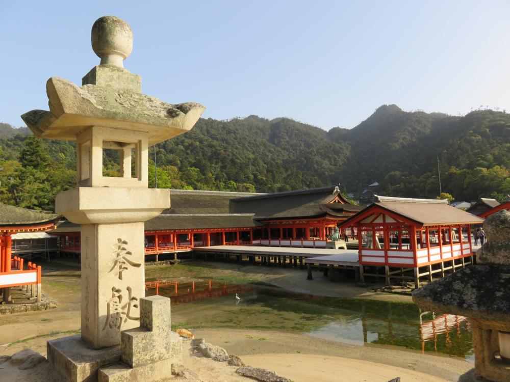 Monastery, Miyajima Island, Japan.